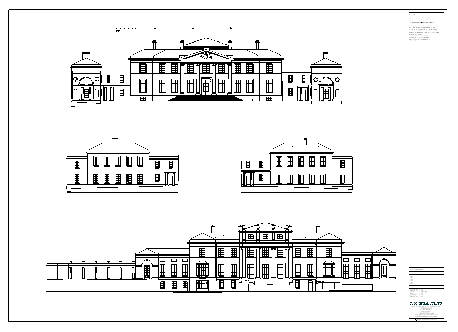 Stately home house plans escortsea for Stately house plans