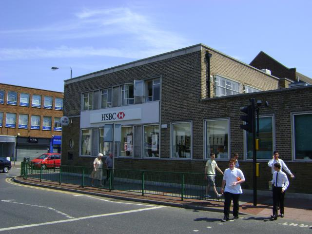 Floor plans, elevations and sections of a Retail unit and offices in Bexleyheath
