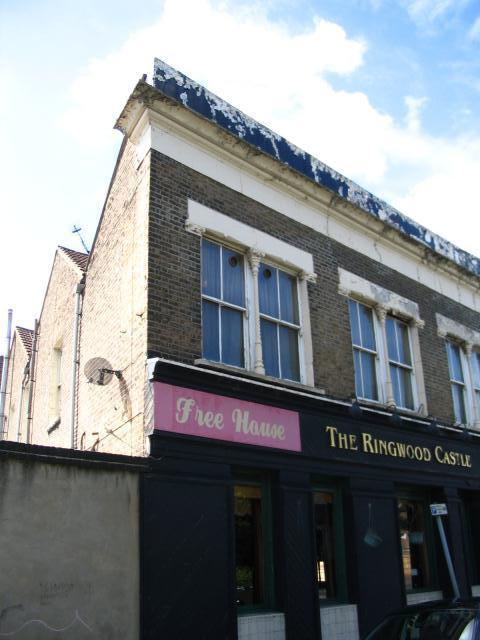 Floor plans and elevations of a pub in Ringwood