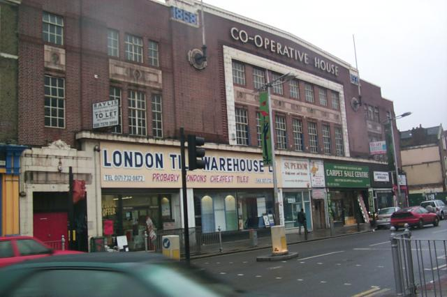 Land survey and elevationsof a commercial building in Peckham